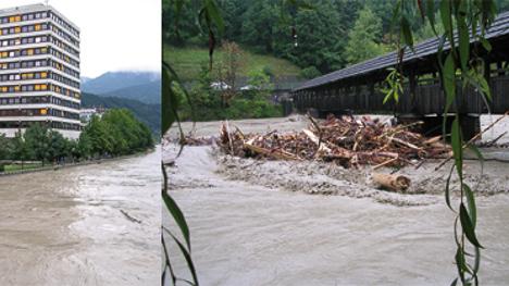 Hochwasserprognose für den Tiroler Inn